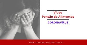 Pensão de Alimentos Coronavírus
