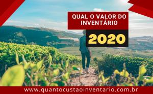 Valor inventário 2020