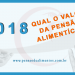 Qual o valor da pensão alimentícia em 2018?